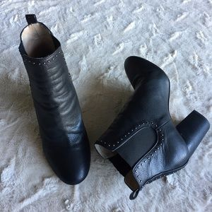 Sakes Fifth Avenue Studded Ankle Bootie, 7.5